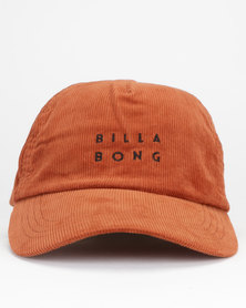 Billabong Fine Lines Cap Rust