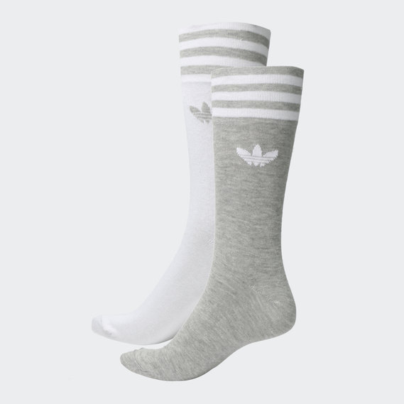 cheapest beauty exquisite design SOLID CREW SOCKS 2 PAIRS
