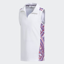 NOVELTY SLEEVELESS POLO
