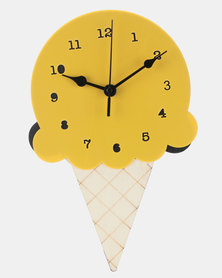 Royal T Wooden Ice Cream Wall Clock Green