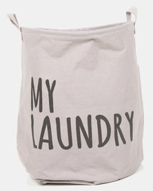 Royal T My Laundry Basket Grey