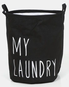 Royal T My Laundry Basket Black