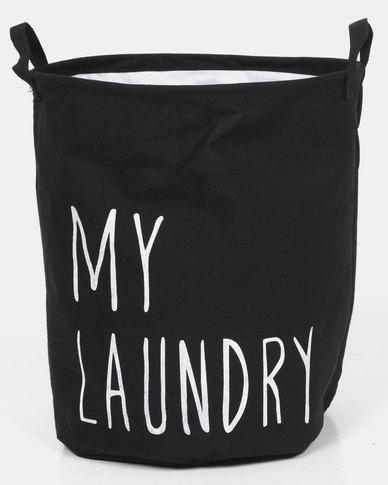 Royal T My Laundry Basket Black
