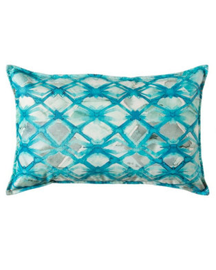 Lush Living Carabel Turquoise Ter Cushion Orted