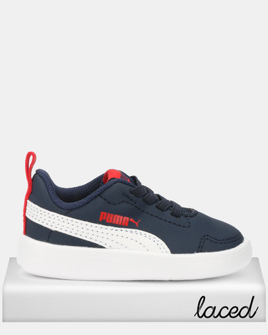 Puma Sportstyle Core Courtflex Toddler Sneakers Blue