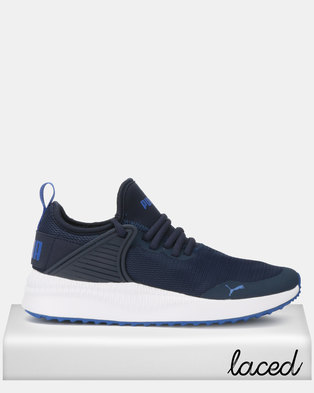Puma Sportstyle Core Pacer Next Cage Sneakers Jr Blue d964b07ec