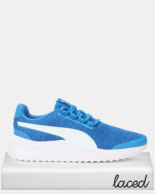 c1d9f5087aaf45 Puma Sportstyle Core Pacer Next FS Knit Jr Sneakers Indigo