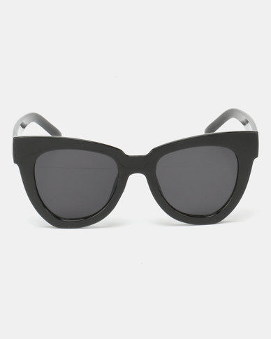 Utopia Amber Sunglasses Black