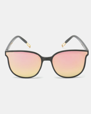 c55a0ce718 Utopia Amy Sunglasses Black