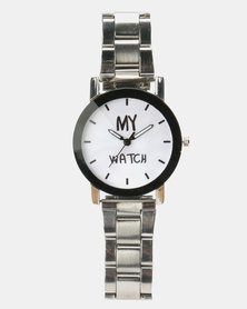 Utopia My Watch Silver-Toned