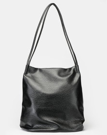 Utopia Sloughy Handbag Black