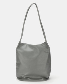 Utopia Sloughy Handbag Grey