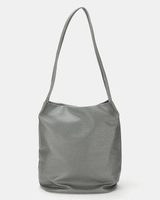 da8d8ea7d003 Utopia Sloughy Handbag Grey