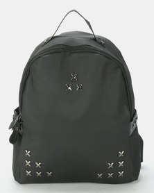 Utopia Studded Backpack Black