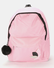 Utopia Nylon Backpack Pink