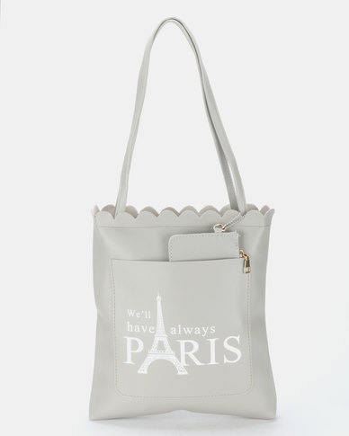Utopia Paris Shopper Bag Grey