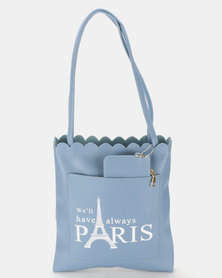 Utopia Paris Shopper Bag Blue