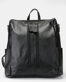 Utopia Top Handle Backpack Black