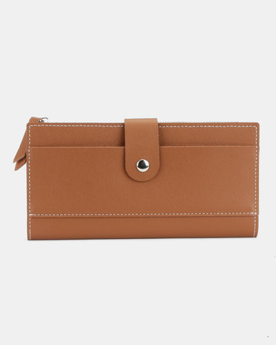 Utopia Ladies Purse Tan