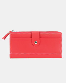 Utopia Ladies Purse Red