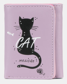 Utopia Cat Purse Purple