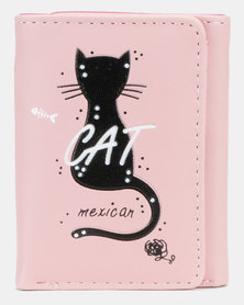 Utopia Cat Purse Light Pink