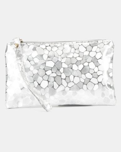 Utopia Glitter Purse Silver