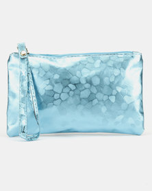 Utopia Glitter Purse Blue