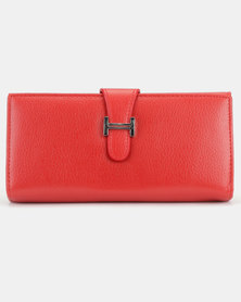 Utopia Buckle Purse Red