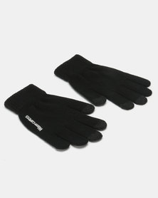 Utopia Ladies Winter Gloves Black