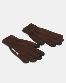 Utopia Ladies Winter Gloves Brown