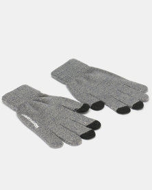 Utopia Ladies Winter Gloves Grey Melange
