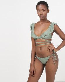 theHive Bikini Bottoms Army Green