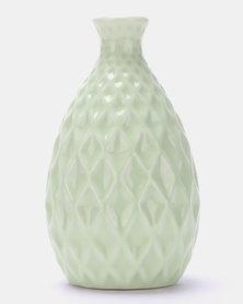Royal T Pastel Flower Vase Green