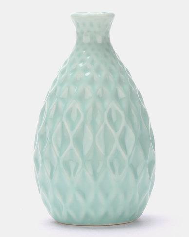 Royal T Pastel Flower Vase Blue