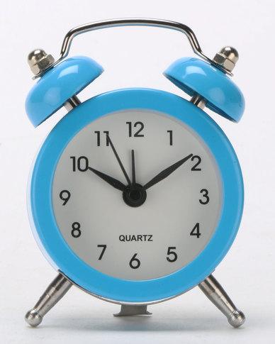 Royal T Retro Alarm Clock Blue