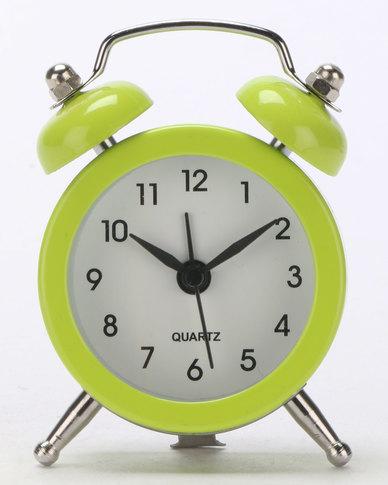 Royal T Retro Alarm Clock Green