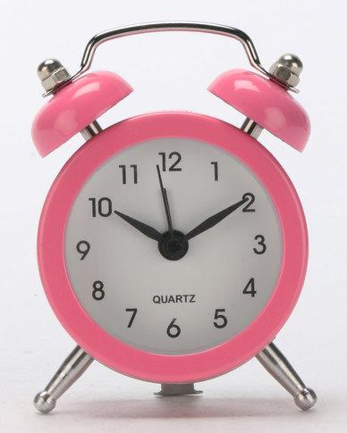 8450ec97e3d017 Royal T Retro Alarm Clock Pink
