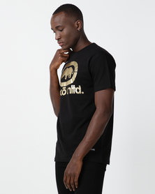ECKÓ Unltd Gold Logo Tee Black