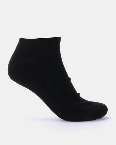 Brave Soul Dale 3Pack Ankle Socks Black