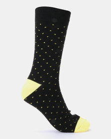 Brave Soul 5 Pack Polka Dot Socks Multi