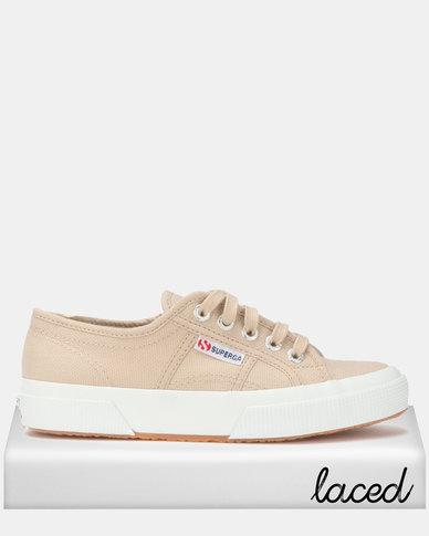 Superga Classic Canvas Sneakers Beige Moonlight