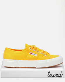 Superga Classic Canvas Sneakers Yellow Gold