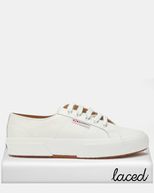 Superga Nappa Leather Sneakers White