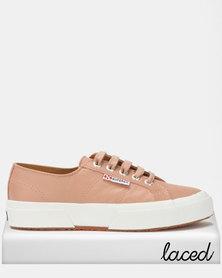Superga Nappa Leather Sneakers  Rose Mahogany