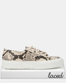 Superga Synth Viper Sneakers Taupe Black