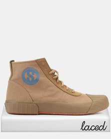 Superga Canvas Logo Boots Kangaroo