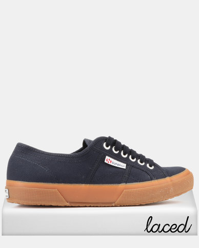 Superga Classic Canvas Sneakers Navy Gum