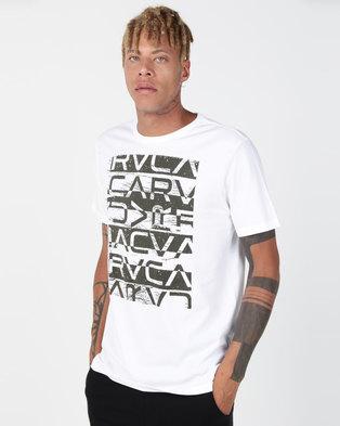 RVCA Staxt SS White