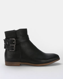 AWOL Ankle Boots Black